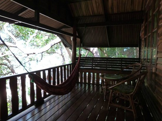 Sabai Corner Bungalows : Bungalow n.11 - balcony