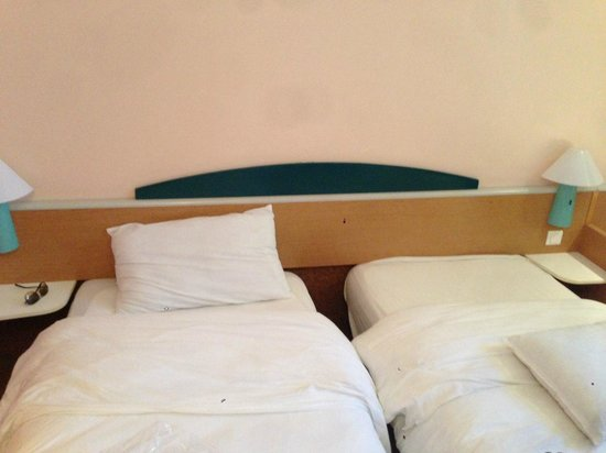 Ibis Moussafir Fnideq: une chambre propre