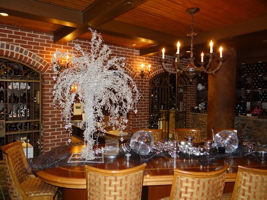 The Capital Hotel : Private dining area