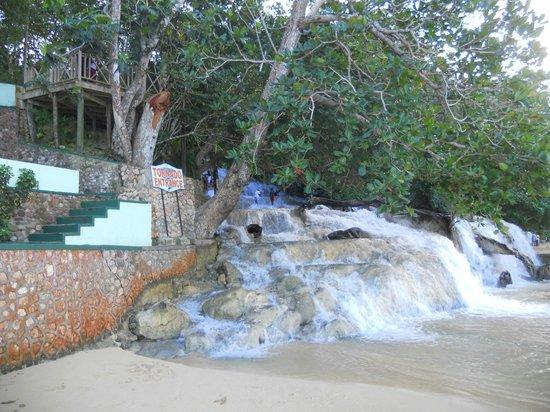 Dunn's River Falls and Park : inizio percorso