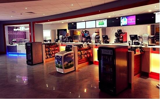 Cineworld Gloucester Quays : Concessions