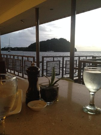 Novotel Suva Lami Bay : Breakfast vista!