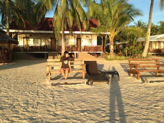 Anika Island Resort : morning sun