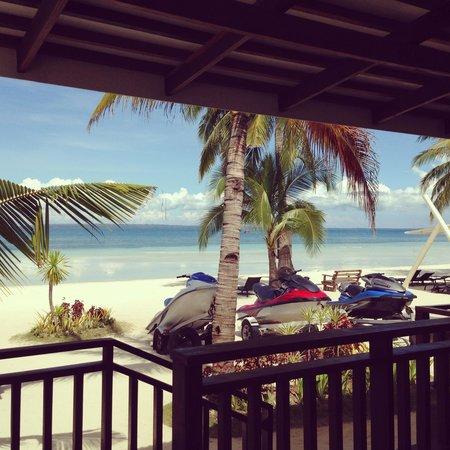 Anika Island Resort : My beachfront view