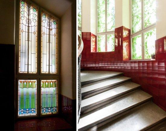 Budapestay Apartments : Beautiful art deco building