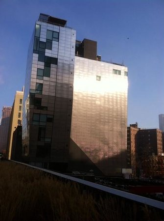 The High Line: great city views.