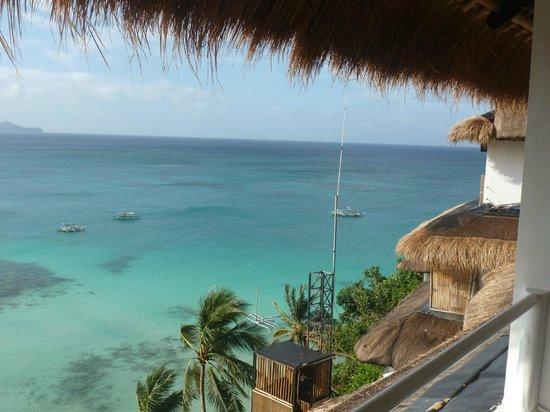 Nami Resort: view from balcony