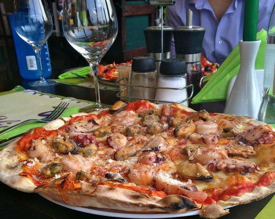 Cucina Casa Elfi: Pizza frutti di mare