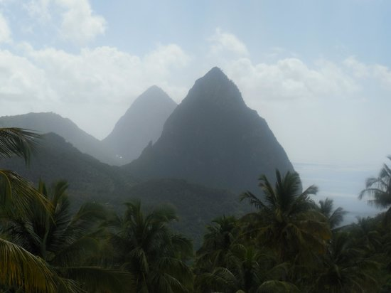 Crystals St Lucia: stunning views