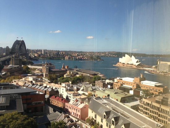 Shangri-La Hotel Sydney: Harbour View Room