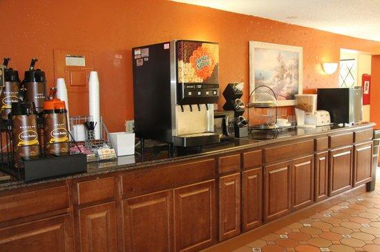 Super 8 Lantana West Palm Beach: Breakfast