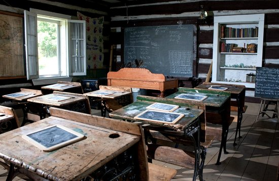 The one room school house at KSV