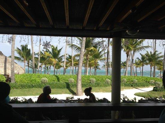 Secrets Royal Beach Punta Cana: breakfast view