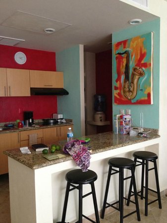Ixchel Beach Hotel: Our kitchen