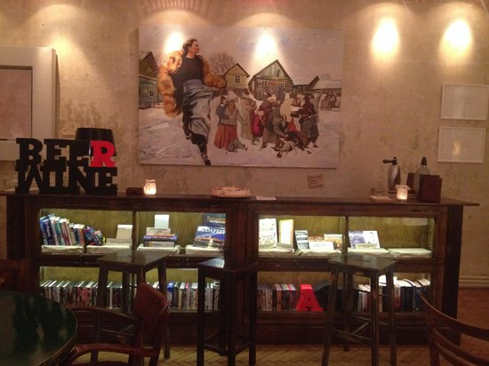 Brody House: Honesty bar