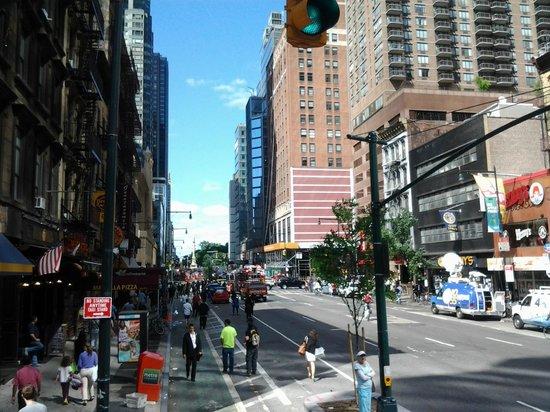 City Sightseeing New York : Tomada desde el bus rojo