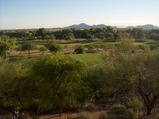Scottsdale Marriott at McDowell Mountains: Looking Out of Room