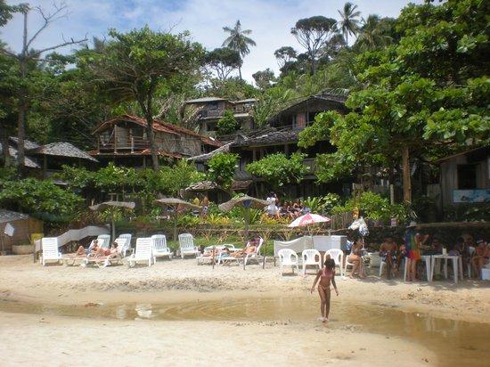 Praia da Tiririca: Pousada da praia