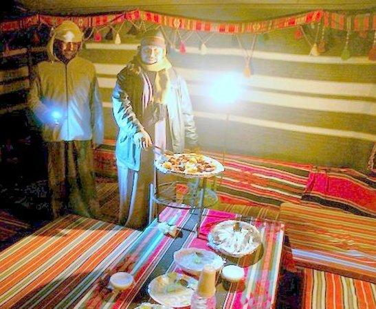 Mohammad Mutlak Camp: Yassir serving Zarb