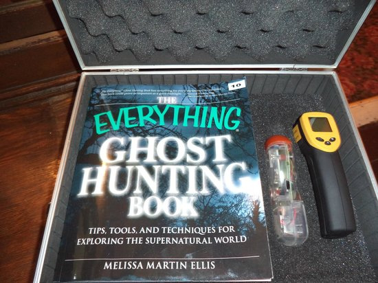 The Historic Hotel Leger : Ghost hunting Kit