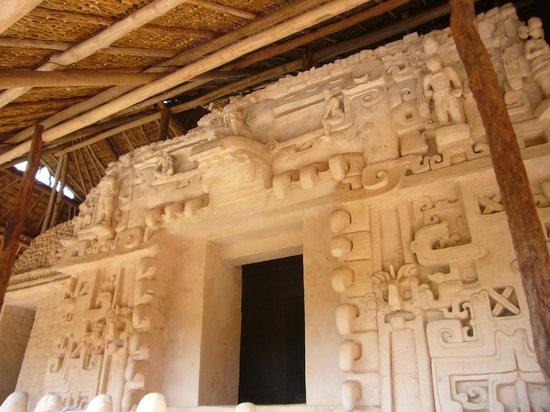 Ek Balam Mayan Ruins: Ek Balam Maya Ruins - Puuc style - Black Jaguar