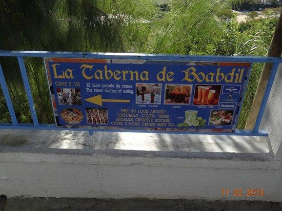 La Taberna de Boabdil : No pongo foto de comidas para no perder el factor sorpresa