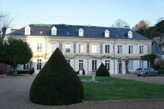 Hotel Le Manoir les Minimes: Frente