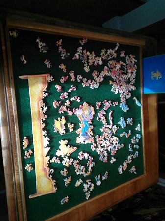 Rabbit Hill Inn : Stave puzzle