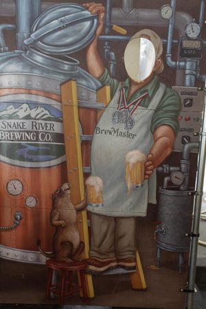 Snake River Brewing: Brewer Photo Booth