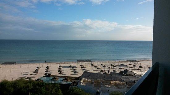 Marhaba Beach Hotel: view from my room