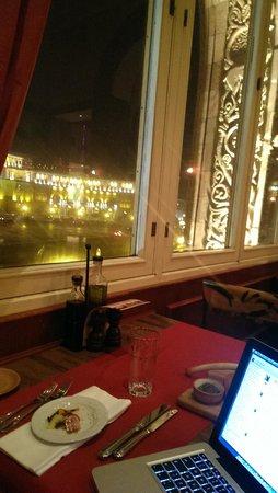 Armenia Marriott Hotel Yerevan: At the italian restaurant