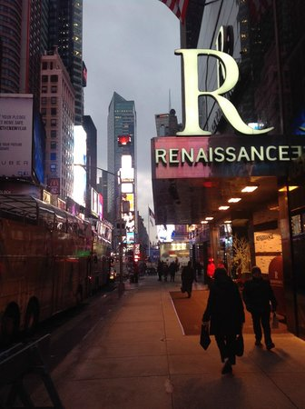 Renaissance New York Times Square Hotel Watch The Ball Drop Right Outside
