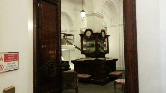 Hotel Majestic Roma: Sala lettura