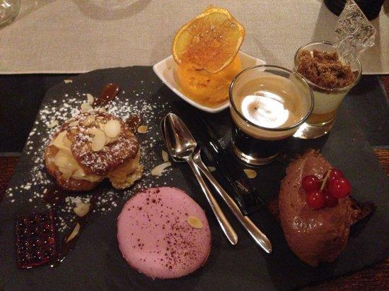 La Chaudanne: Le café gourmand, très gourmand !