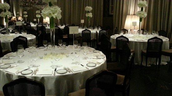 Hotel Majestic Roma: La sala da pranzo. D' impatto.