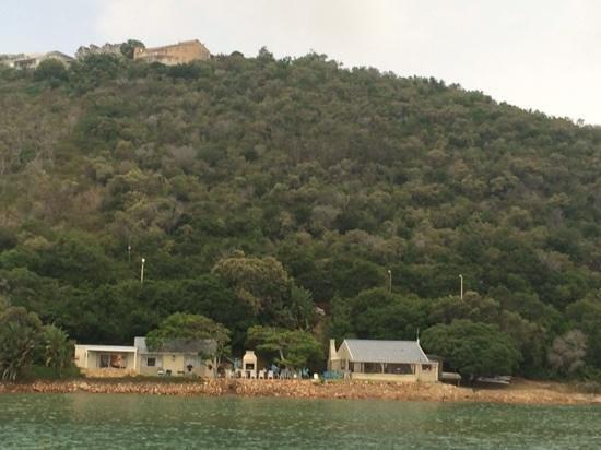 Amanzi Island Lodge: View from breakfast