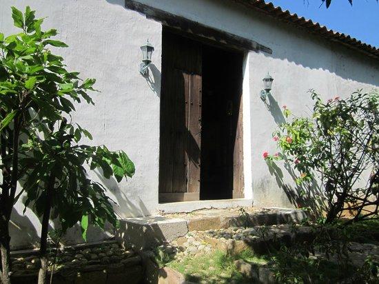 Posada Las Garcia : Puerta original de la Casa de las García
