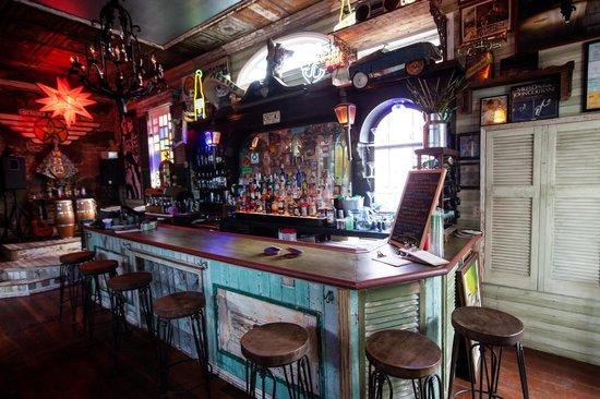 Casa Borrega: the bar