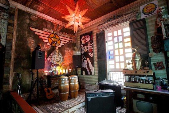 Casa Borrega: the stage