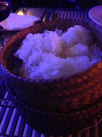O Boui Boui Lao : Riz gluant.