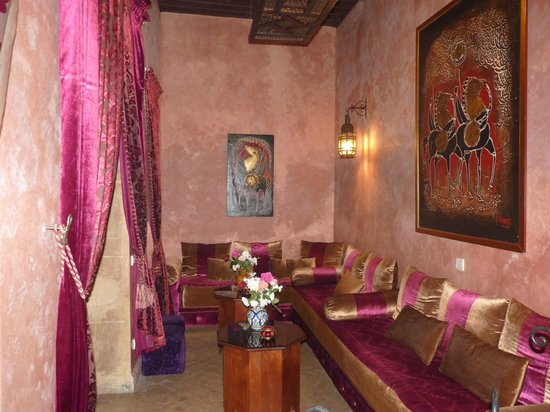 Riad Marlinea : salon