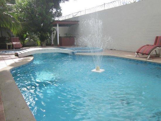 Hotel Boutique Posada Las Iguanas : La piscina limpia