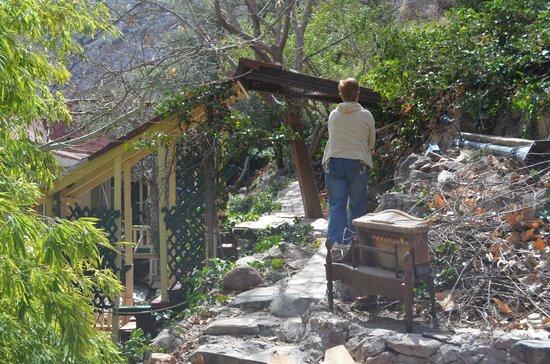 The Inn at Castle Rock: Back gardens