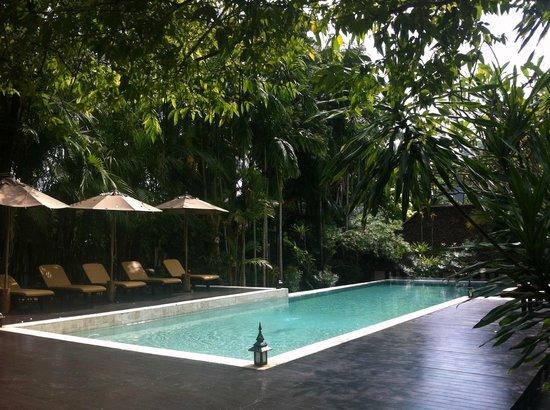 The Cliff Ao Nang Resort: Poolen är verkligen en oas på eftermiddagarna