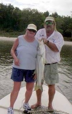 Go Fish Guides : Everglades Snook fish caught on charter in the Everglades National Park