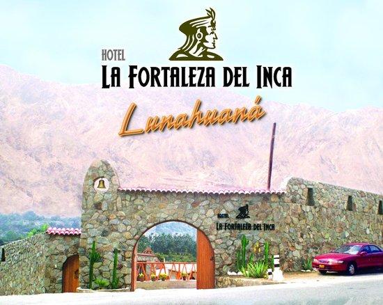 La Fortaleza Del Inca: FACHADA DEL HOTEL
