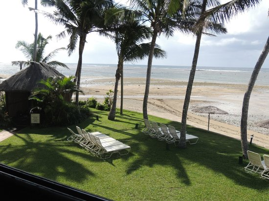 Outrigger Fiji Beach Resort : View from Sundowner Restaurant