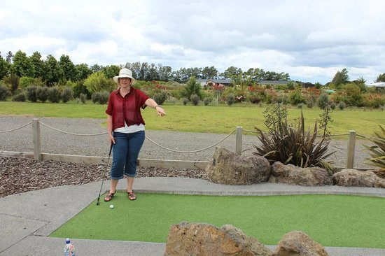 Keri-Putt : So am I aiming for that hole there?