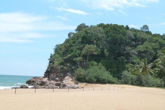 Club Med Cherating Beach: plage en face du club
