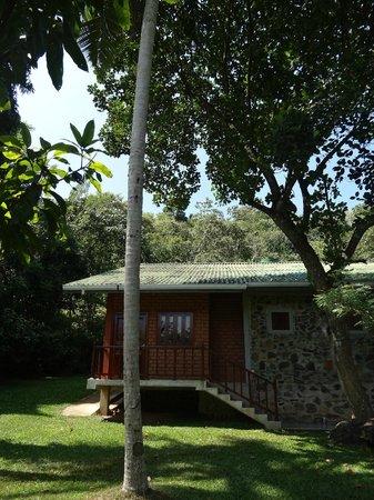 Sri Gemunu Beach Resort : chalet 1